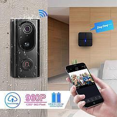 Влагозащищенный беспроводной IP WiFi видео домофон KERUI L16.Tosee Plus