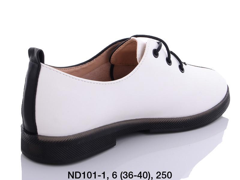 Туфли женские белые Teetspace-Trasta-Egga-ND101-1