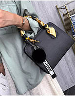 Женская сумочка серая