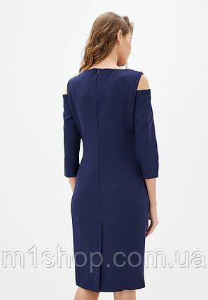 Женское платье с набивным гипюром на груди (Питония lzn), фото 2