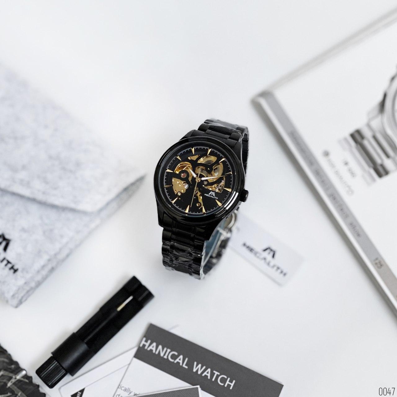 Мужские механические часы Megalith 8078M