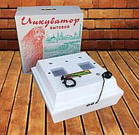 Бытовой литой автоматический инкубатор Наседка ИБ-120 на 72 яиц / 12В, фото 1