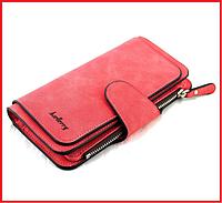 Клатч, портмоне, кошелек Baellerry Forever Long Red 7003-0364