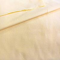 Польская хлопковая ткань светло-жёлтая 160 см