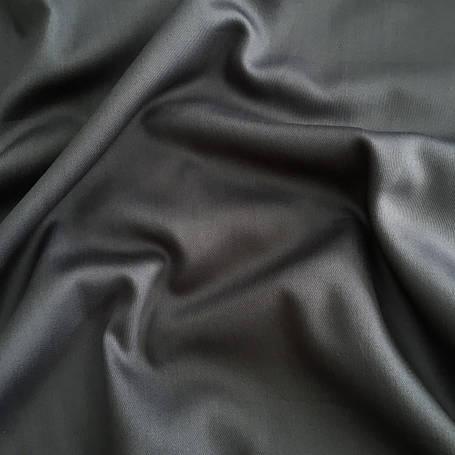 Сатин темно-серый  240 см, фото 2