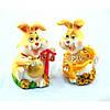 """Статуэтка декоративная для интерьера """"Кролик"""" 6818, керамика, 2 вида, фигурка декоративная, статуэтка для"""