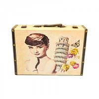 """Сундук деревянный для хранения вещей """"Вавилон"""" 910629, в наборе 2 штуки, сундук для декора, сундук для"""