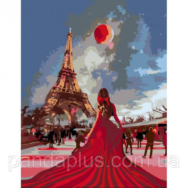 "Картина по номерам ""Страстный Париж"" N00013226 ROSA START"