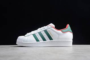 Кроссовки мужские Adidas Superstar / ADM-3296 (Реплика)