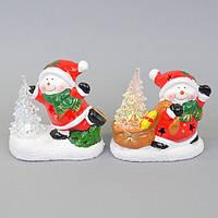 Новогодний декор для интерьера NG729, 11*12*5 см, керамика, Новогодние сувениры, Украшения новогодние, Праздничный декор