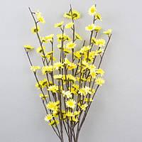 """Композиция цветочная для декора """"Цвет"""" F2, размер 100х15 см, с подсветкой, разные цвета, декоративный цветок,"""