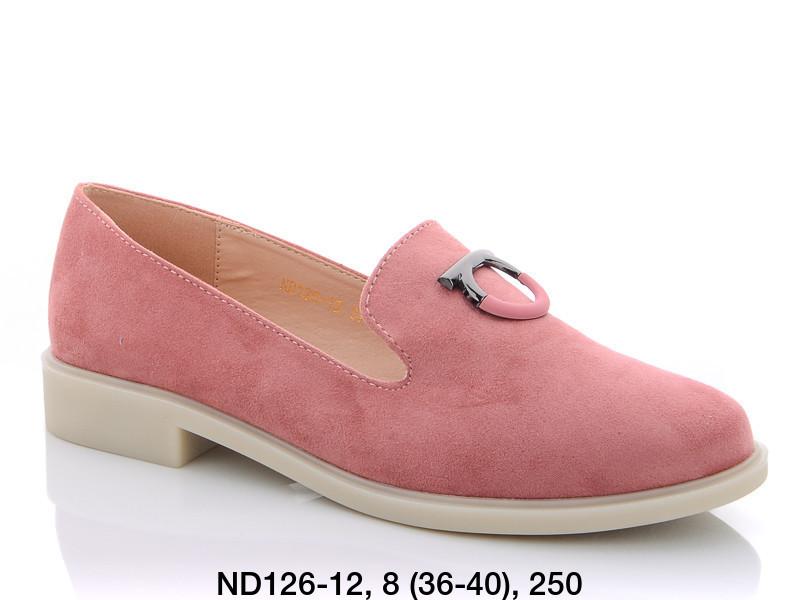 Туфли женские лоферы розовыеTeetspace-Trasta-Egga-ND126-12