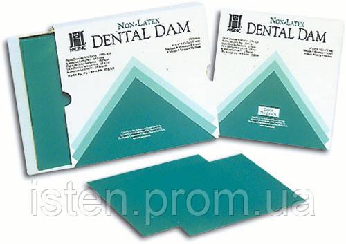 Платки для коффердама Latex Dental Dam, 36шт. упак.