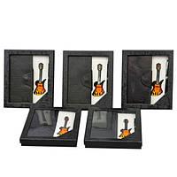 Набор мужской подарочный Orbea в комплекте: шариковая ручка, кошелек, зажигалка в виде гитары, подарочный, фото 1