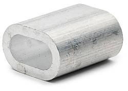 Затискач алюмінієвий для троса та каната DIN 3093
