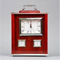 """Часы настольные для декора """"Old Fashion"""" H09139, c ручкой, размер 21х18x5 см, дерево, домашние часы, часы для, фото 1"""