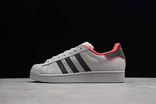 Кроссовки мужские Adidas Superstar / ADM-3298 (Реплика)