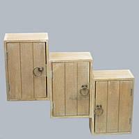 """Шкафчик в стиле """"Прованс"""" JK0078, материал - дерево, размер - 22*15*9 см, стиль прованс, декор для дома,"""