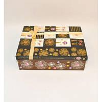 Подарочная коробка Gaillardia набор из 5шт, с принтами, картон, набор подарочных коробок, подарочные коробки
