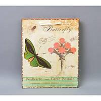 """Подарочный пакет """"Бабочка"""" TF408, 26*32*12,5 см, Пакет для подарков, Упаковка подарков, Пакеты бумажные, фото 1"""