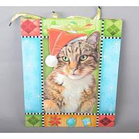 Подарунковий пакет TF414, 32*26 см, з ручками, Пакети для подарунка, Подарункові пакети з ручками, фото 1