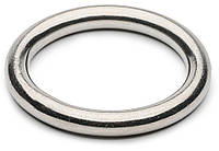 Кольцо сварное d=30 мм, белый цинк