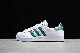 Кроссовки мужские Adidas Superstar / ADM-3299 (Реплика)