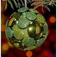 """Елочная игрушка """"Шар"""" XB1093, 24*8*8 см, 3D, из шт, Новогодние сувениры, Украшения новогодние, Игрушки на елку"""