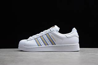 Кроссовки мужские Adidas Superstar / ADM-3300 (Реплика)