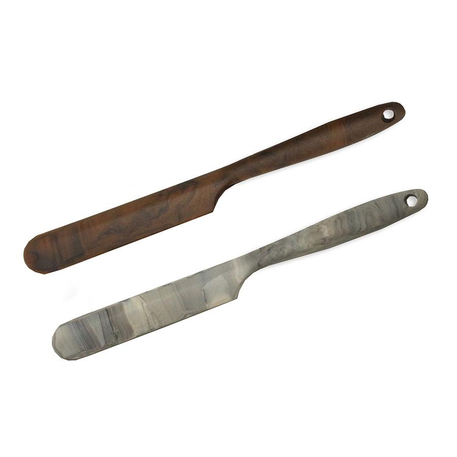 Силиконовая лопатка кухонная 30,2x3,4x1,2 см