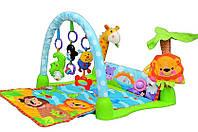 Детский развивающий игровой коврик Умный малыш, музыкальный, Joy Toy, 54х52х80 см, 7181