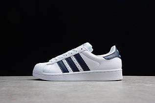 Кроссовки мужские Adidas Superstar / ADM-3301 (Реплика)