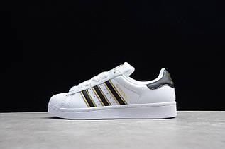 Кроссовки мужские Adidas Superstar / ADM-3302 (Реплика)