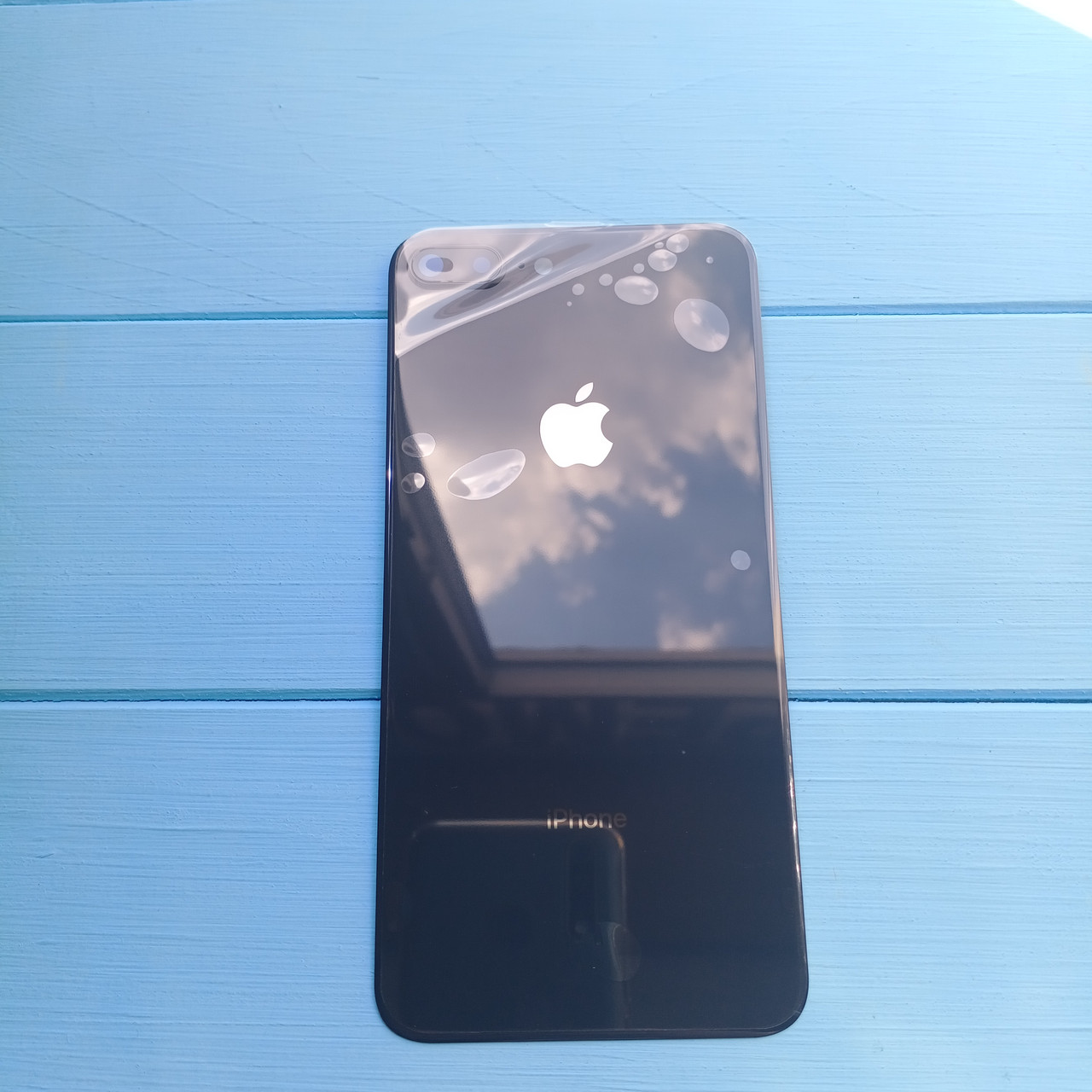 Задняя панель корпуса Apple iPhone 8 Plus Space Gray
