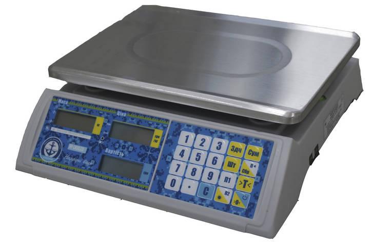 Торгові ваги VP-LN LCD/LED RS-232 VAGAR (30кг), фото 2