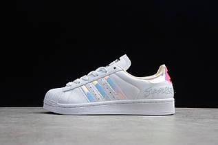 Кроссовки мужские Adidas Superstar / ADM-3306 (Реплика)