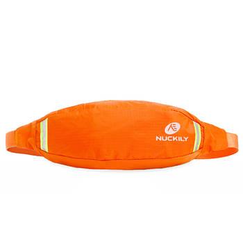Сумка Nuckily PM10 Orange спортивная на пояс для бега велоезды спорта