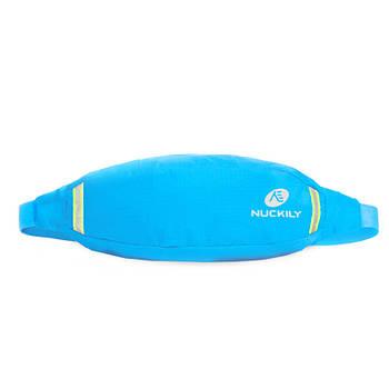 Сумка Nuckily PM10 Sky Blue спортивная на пояс для бега велоезды спорта