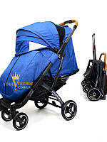 Прогулочная коляска Yoya plus pro 2020 (йойа плюс) синий