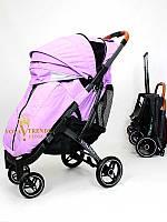 Прогулочная коляска Yoya plus pro 2020 (йойа плюс) фиолетовый