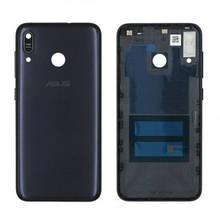 Задняя крышка Asus ZenFone Max M1 ZB555KL, черная, Deepsea Black, Оригинал Китай