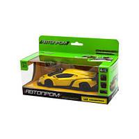 """Машинка металлическая """"Lamborghini Veneno"""" (желтая) 7601"""