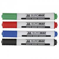 Комплект маркеров цветных 4шт