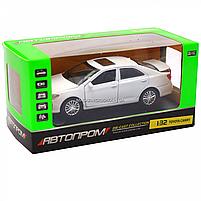 Машинка игровая автопром «Toyota Camry» Тойота, белая, металл, 14 см, (свет, звук, двери открываются) 7814, фото 2