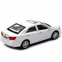 Машинка ігрова автопром «Toyota Camry» Тойота, біла, метал, 14 см, (світло, звук, двері відкриваються) 7814, фото 6
