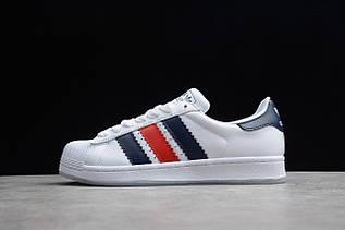Кроссовки мужские Adidas Superstar / ADM-3309 (Реплика)