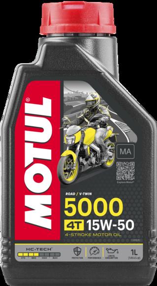 Моторне масло MOTUL 15W50 5000 4T (1л)