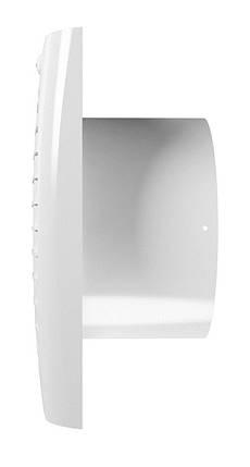 Вентилятор Ера осьовий витяжний з зворотним клапаном 150 х 100 мм (60-701), фото 2