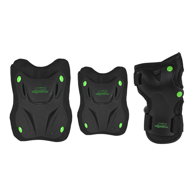 Комплект защитный Nils Extreme H407 Size S Black/Green