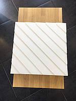 Гипсовые 3D панели Diagonal